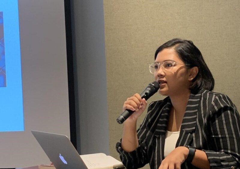 FOTO : Kordinator Komisi untuk Orang Hilang dan Tindak Kekerasan (KontraS) Fatia Maulidiyanti/Ist