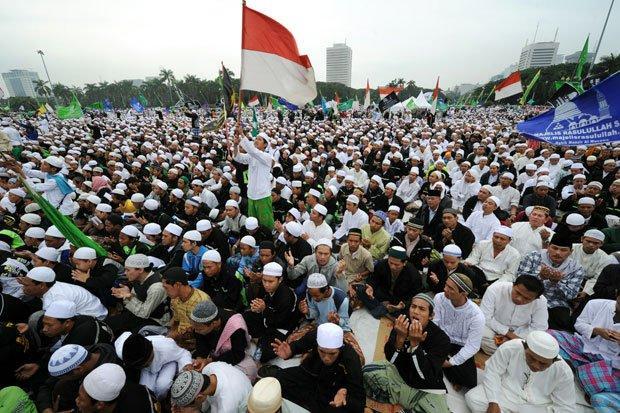 FOTO : Mengambarkan Penduduk Muslim dalam Berira/Istimewa