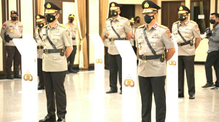 FOTO : Kapolda Jambi Rachmad Wibowo Resmi Dilantik Oleh Kapolri Idham Aziz/Ist