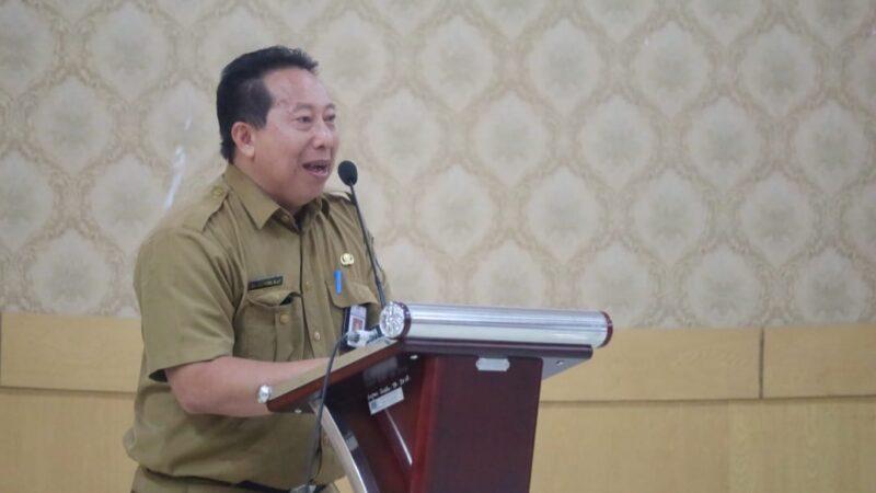 FOTO : Kepala Dinas Perpustakaan dan Kearsipan Kabupaten Tanjung Jabung Barat Drs. Zulfikri, M.AP
