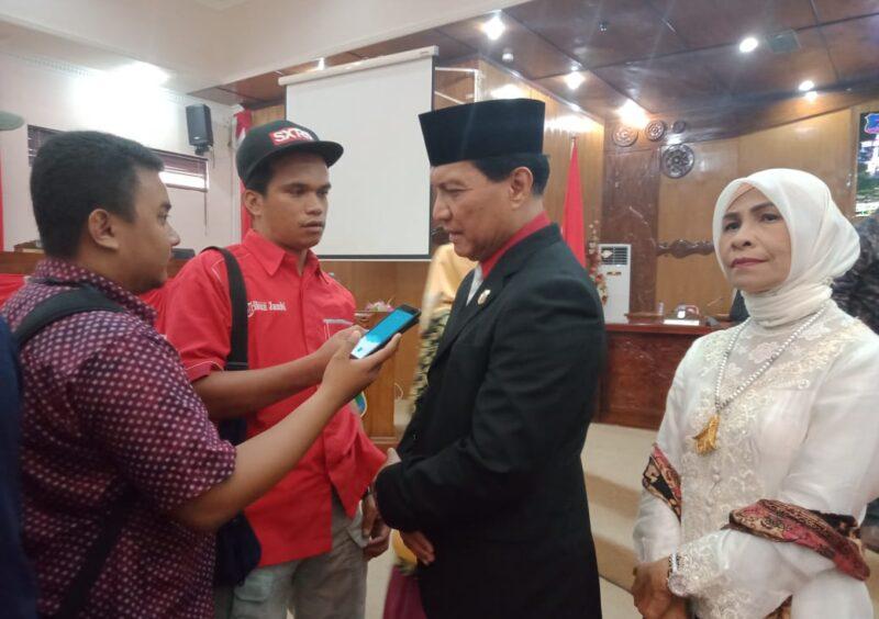 Ketua DPRD Kabupaten Tanjung Jabung Barat Mulyani Siregar, SH