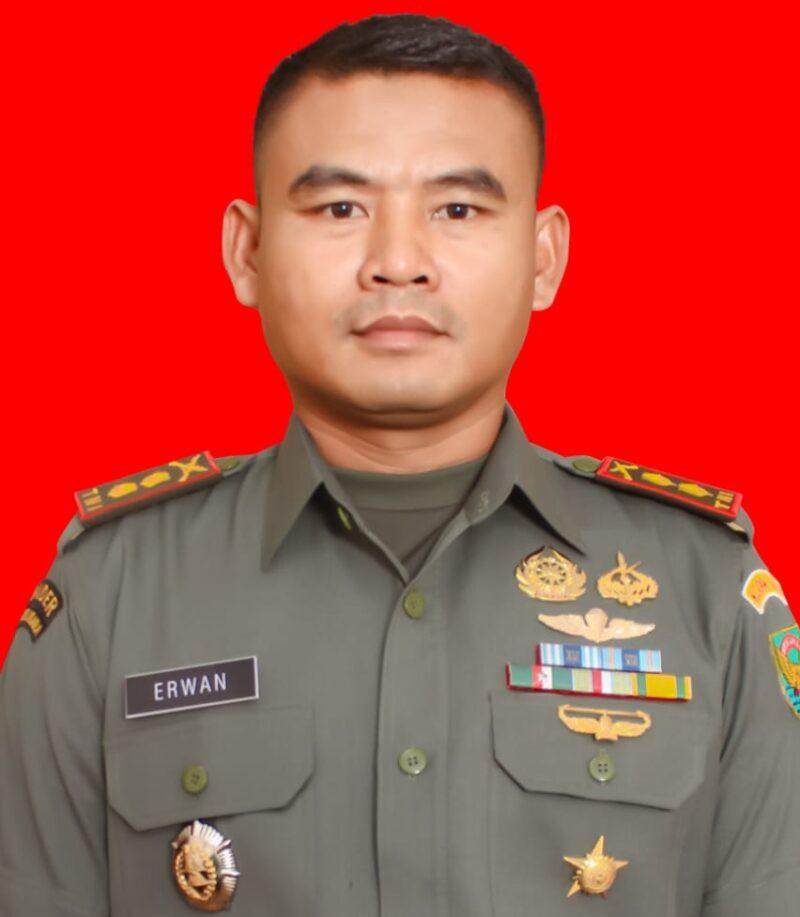 FOTO : Letkol Inf. Erwan Susanto, SIP, Dandim 0419 Tanjab Yang Baru.