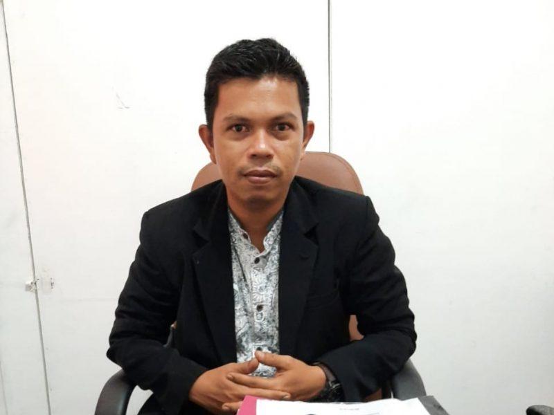 FOTO : M. Taufik, Komisioner Divisi Teknis Penyelenggaraan KPUD Tanjab Barat