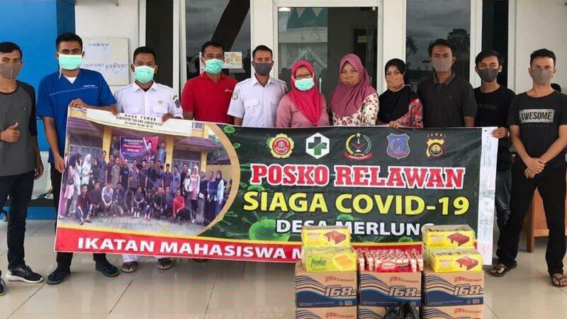 FOTO : Personil Ikatan Mahasiswa Merlung dari Kecamatan Merlung Kabupaten Tanjab Barat