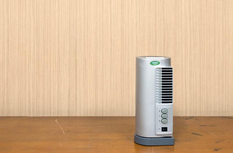 FOTO : Alat purifikasi udara PUVICON tipe yang dikembangkan oleh FTUI/ hetanews.com