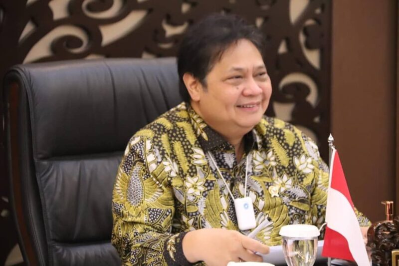 Ketua Komite Penanganan Covid-19 dan Pemulihan Ekonomi Nasional (KPC-PEN) Airlangga Hartarto. (Foto: Instagram.com/@airlanggahartarto_official)