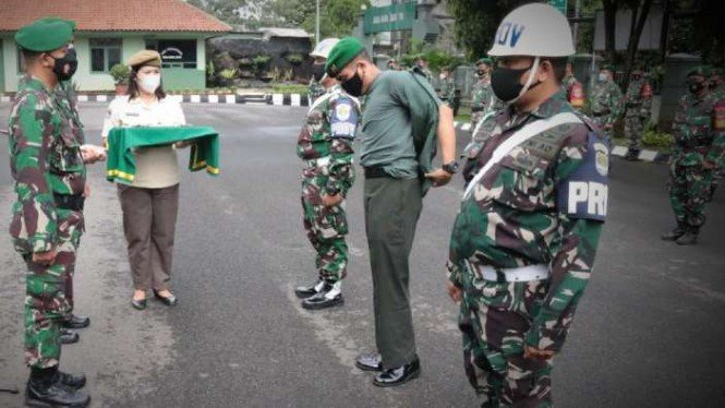 FOTO : Kodam Jaya Jakarta/Kodim 0504/Jaksel