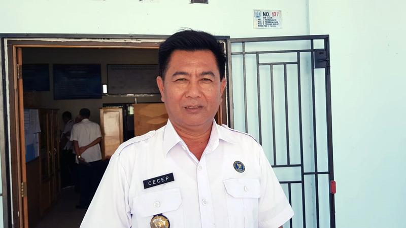 FOTO : Kepala BNNK Tanjab Timur-Barat AKBP Cecep Subaryat, SH