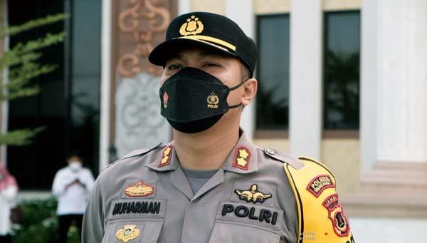 Kapolres Tanjab Barat AKBP Muharman Arta, SIK . FOTO : Yoza/Hms-res
