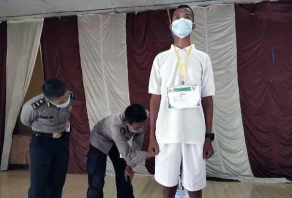 Mantap!, Satu Anak Warga SAD di Bungo Lulus Tes Polisi