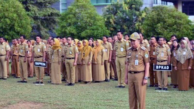 FOTO : Aparatur Sipil Negara (ASN) di lingkungan Pemerintah Kota Jambi/Tribunjambi