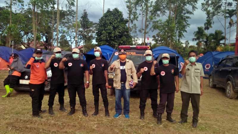 Tim TRC BPBD Tanjab Barat Raih Juara II Lomba Simulasi Evakuasi Korban Karhutla. FOTO : BPBD Tanjab Barat