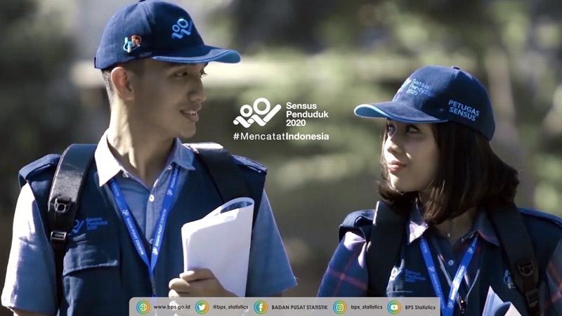 GAMBAR : Petugas Sensus Penduduk 2020/Sumber bps.go.id