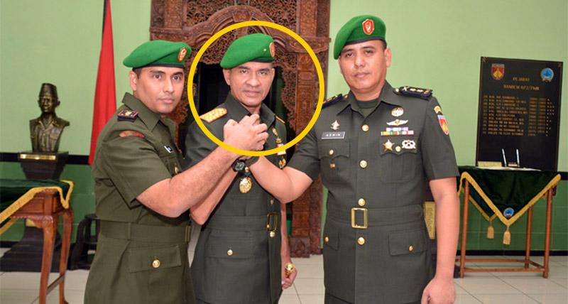FOTO : Kepala Staf Kodam II/Sriwijaya Brigjend TNI Muhammad Zamroni, S.IP (tengah)