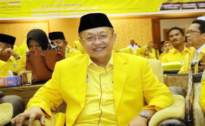 FOTO : Drs. H. Cek Endra, Ketua DPD I Partai Golkar Terpilih Periode 2020-2025