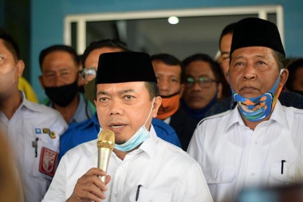 Gubernur dan Wakil Gubernur Jambi Periode 2021-2024 Dr. H. Al Haris, S.Sos. MH dan Drs. H. Abdullah Sani, M. Pd.I. FOTO : Istimewa