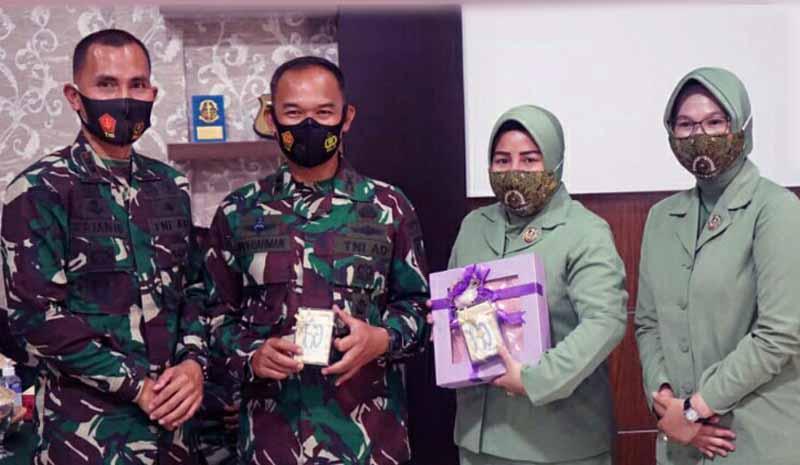 FOTO : Letkol Inf Arianto Maskare Subagio resmi menjabat Komandan Kodim 0416/Bute. Ia mengantikan Letkol Inf Widi Rahman./Ist