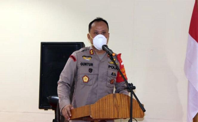 FOTO : Kapolres Tanjab Barat AKBP Guntur Saputro, SIK, MH