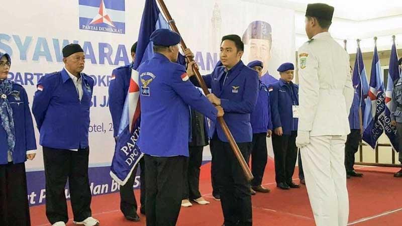 Para Ketua dan Pengurus Partai Demokrat se Provinsi Jambi. FOTO : Istimewa
