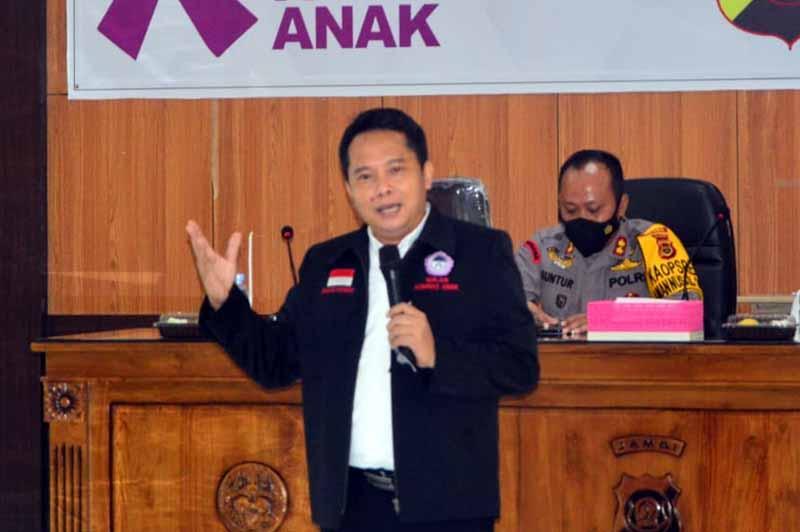 FOTO : Sekjen Komnas Perlindungan Anak (PA) Dhanang Sasongko.