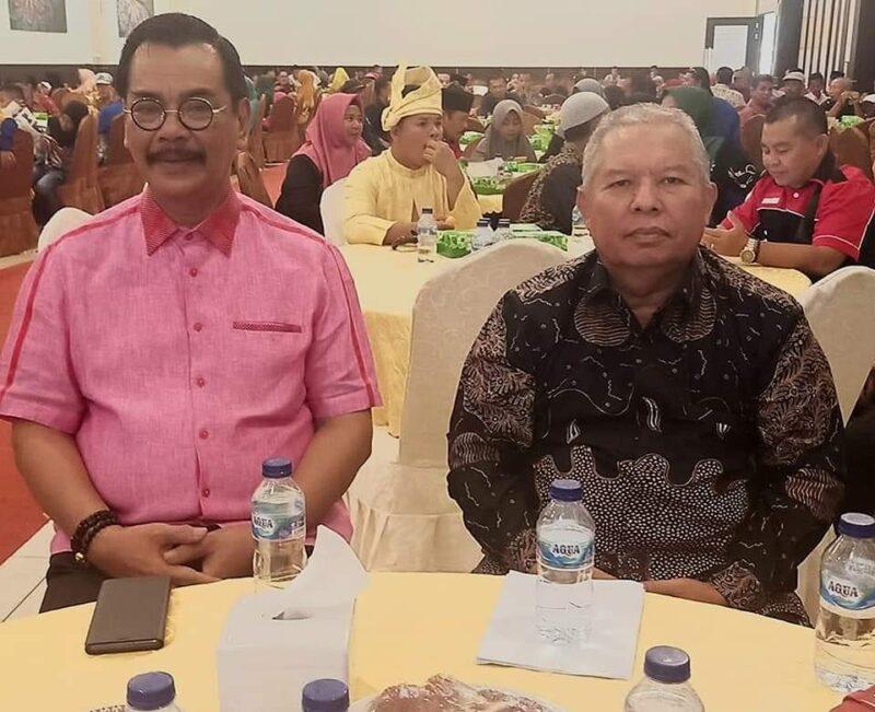 FOTO : Bupati Dr. H. Safrial Saat Menghadiri Rakerwil I DPW BMKJ Provinsi Kepulauan Riau di Aula Restaurant Golden Prawn Bengkong Laut, Kota Batam, Minggu (19/01/20).