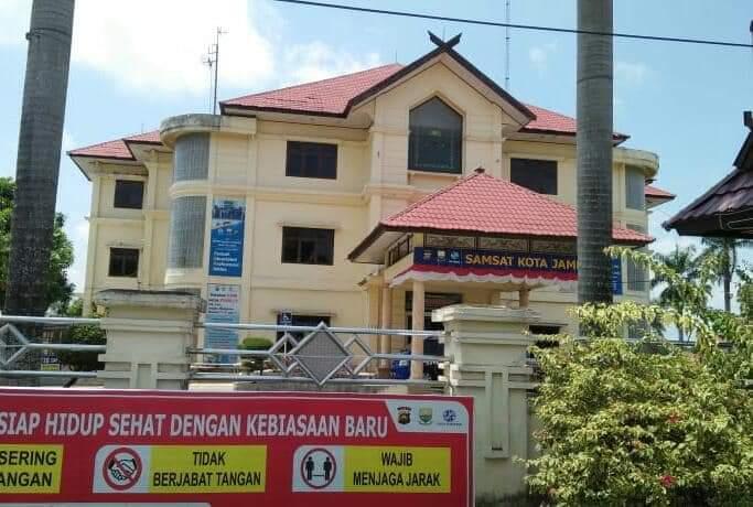 FOTO : Kantor Badan Keuangan Daerah (Bakeuda) Provinsi Jambi