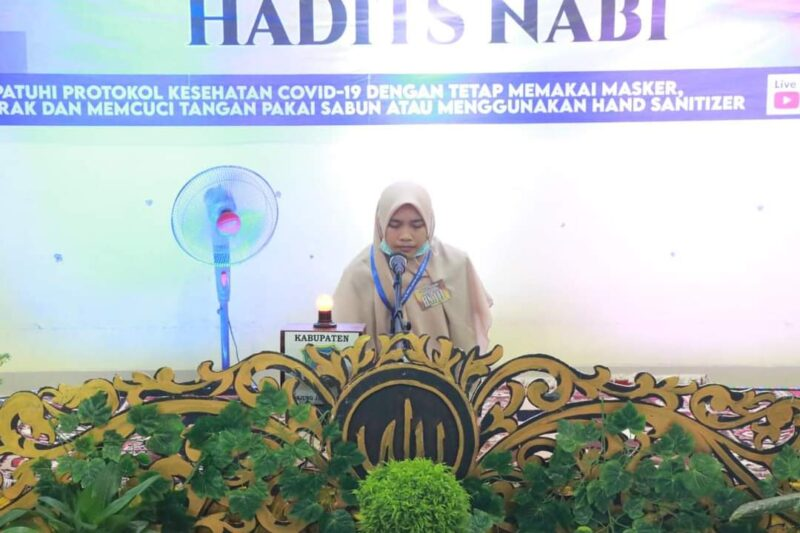 Musabaqah Tilawatil Qur'an (MTQ) ke-50 tingkat Provinsi Jambi di Kabupaten Tanjab Barat. FOTO : Istimewa