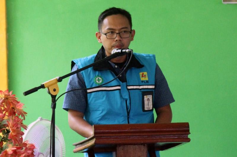 FOTO : Rizki Tungguan, Manager PT PLN ULP Kuala Tungkal