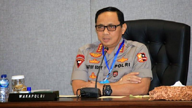 Wakapolri Komjen Pol. Dr. Gatot Eddy Pramono, M.Si