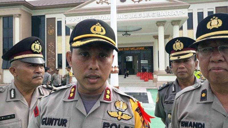 FOTO : Kapolres Tanjung Jabung Barat AKBP Guntur Saputro, SIK, MH