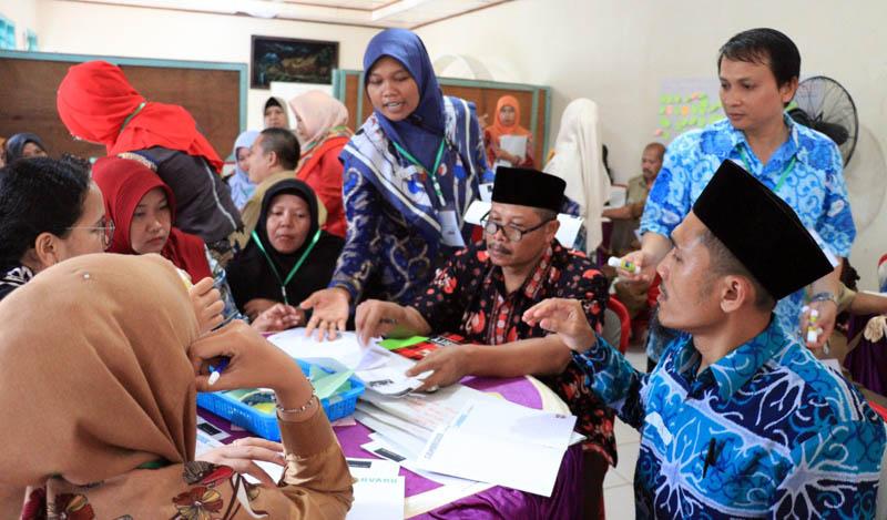 FOTO : Para Guru MTsN 1 Tebo Kabupaten Tebo Saat Mengikuti Pelatihan Pembelajaran Modul 1 Program PINTAR Tanoto Foundation, Selasa-Kamis, (11-12/02/20)/Humas Tanoto Foundation