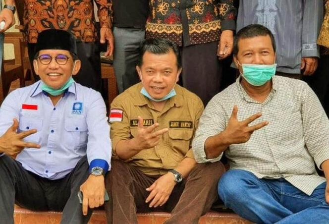 FOTO : Deret H. Bakri, Al Haris dan Rhomy Hariyanto
