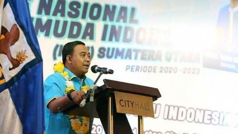 FOTO : Ketua Umum Dewan Pimpinan Pusat Komite Nasional Pemuda Indonesia (DPPKNPI), Haris Pertama/Ist