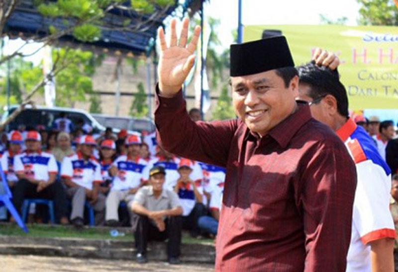 FOTO : Anggota DPR RI Hasan Basri Agus (HBA)