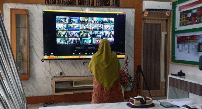 FOTO : Captions Program BEDIL (Belajar dari Koramil) Korem 042 Gapu Jambi