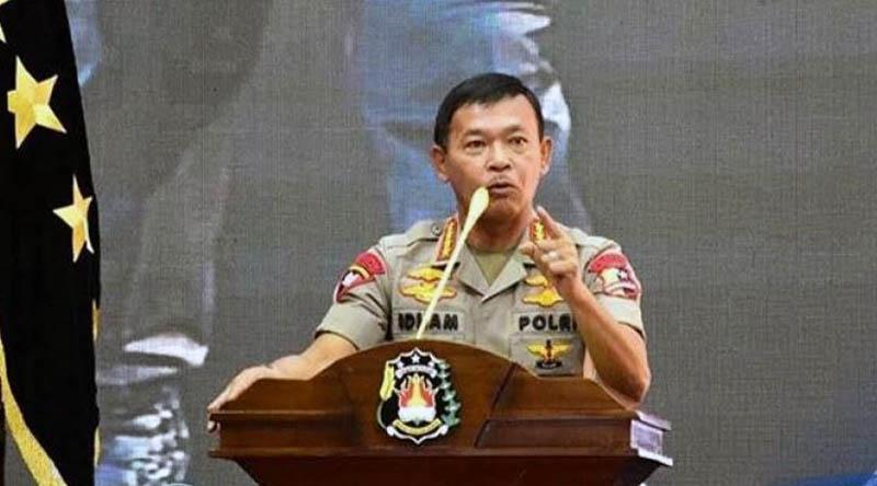 FOTO ; Kapolri Jenderal Idham Azis/Ist