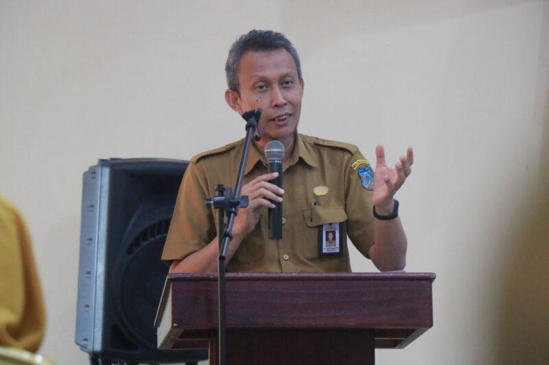 Sekretaris Daerah Kabupaten Tanjung Jabung Barat Ir. H. Agus Sanusi, M.Si