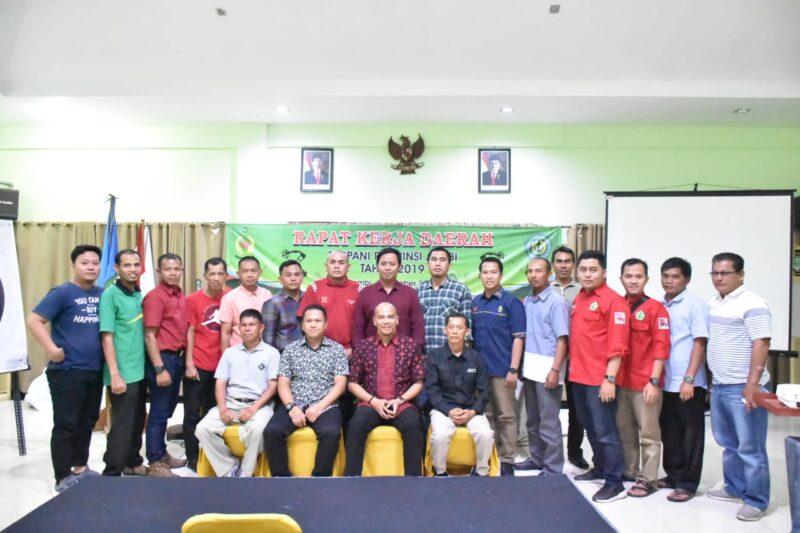 FOTO : Musyawarah Daerah (Musda) Pengurus Provinsi (Pengprov) Persatuan Panahan Indonesia (Perpani) se Provinsi Jambi di Hotel Ratu Jambi, (10/11/19)