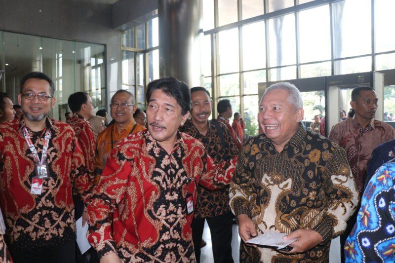 FOTO : Bupati Tanjung Jabung Barat Dr. Ir. H. Safrial MS Menghadiri Peringatan Hari Anti Korupsi Sedunia (Hakordia) di Gedung Merah KPK, Kuningan Persada, Jakarta Selatan, Senin (09/12/19)