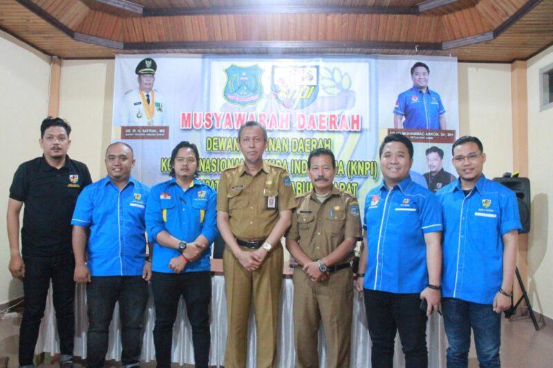 FOTO : Musyawarah Daerah DPD KNPI Kabupaten Tanjab Barat Tahun 2019 di Aula Hotel Ariyad Kuala Tungkal, Senin (16/12/19)
