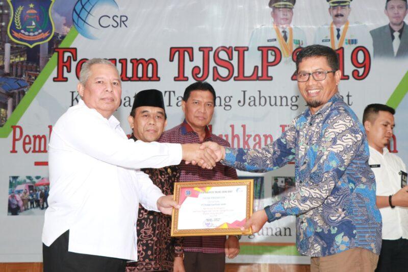 FOTO : Acara Forum Tanggung Jawab Sosial dan Lingkungan Perusahaan (TJSLP) Kabupaten Tanjung Jabung Barat 2019 di Gedung Balai Pertemuan, Rabu (18/12/19)
