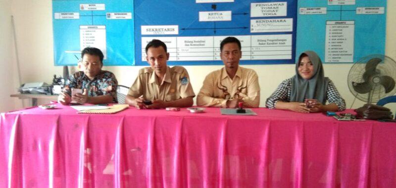 FOTO : Pelaksanaan Penjaringan Seleksi Perangkat Desa Suka Damai, Senin (30/12/19)