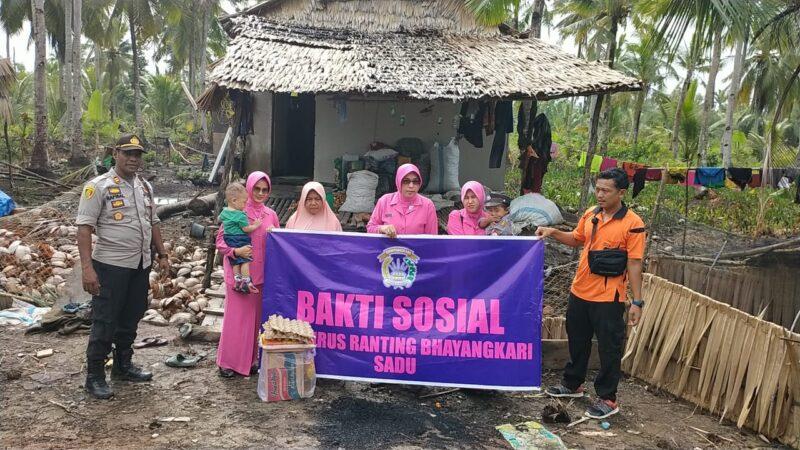 FOTO : Dokumentasi Bhayangkari Ranting Sadu Polres Tanjab Timur