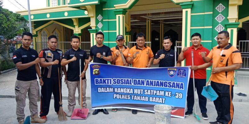 FOTO : Dokumetasi Sat Binmas Polres Tanjab Barat, Sabtu (18/01/20)