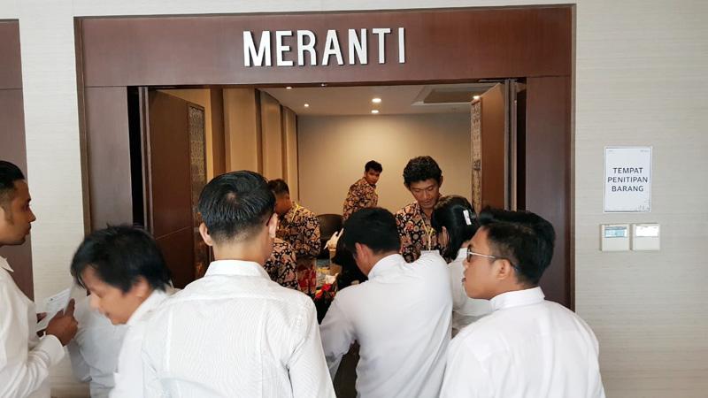 FOTO : Pelaksanaan Ujian SKD CPNS Tanjung Jabung Barat hari Pertama di Lt. 5 BW Luxury Hotel Jambi pada hari pertama, Rabu, (19/02/20) lalu