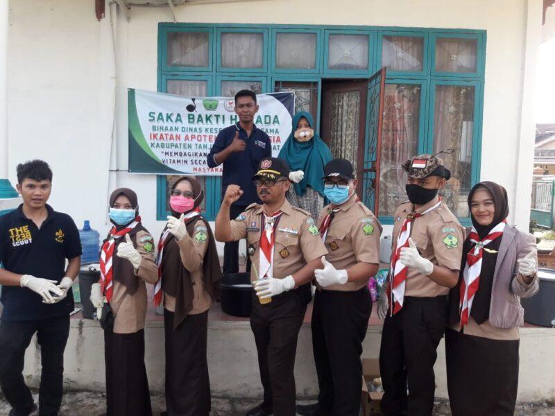 FOTO : Pengurus Saka Bhakti Husada Kabupaten Tanjab Barat 2020