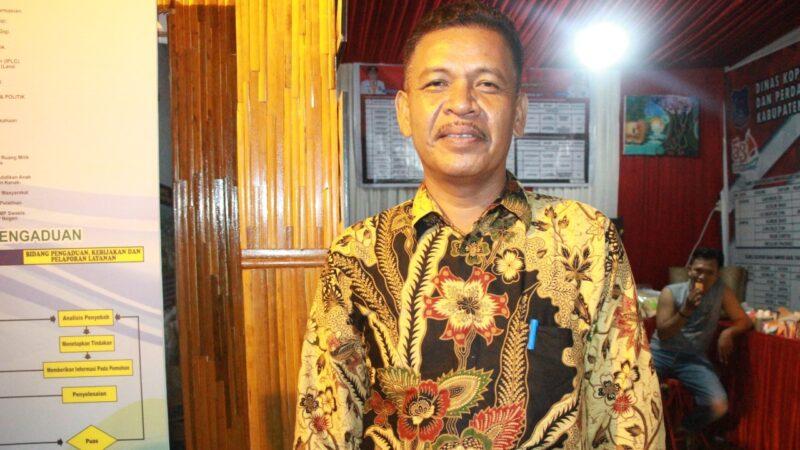 FOTO : Syafriwan, SE, Kepala Dinas KUKM Perindag Kabupaten Tanjab Barat.