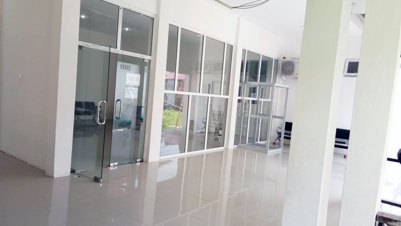 FOTO : Ruang Isolasi RSUD KH Daud Ariif Kuala Tungkal