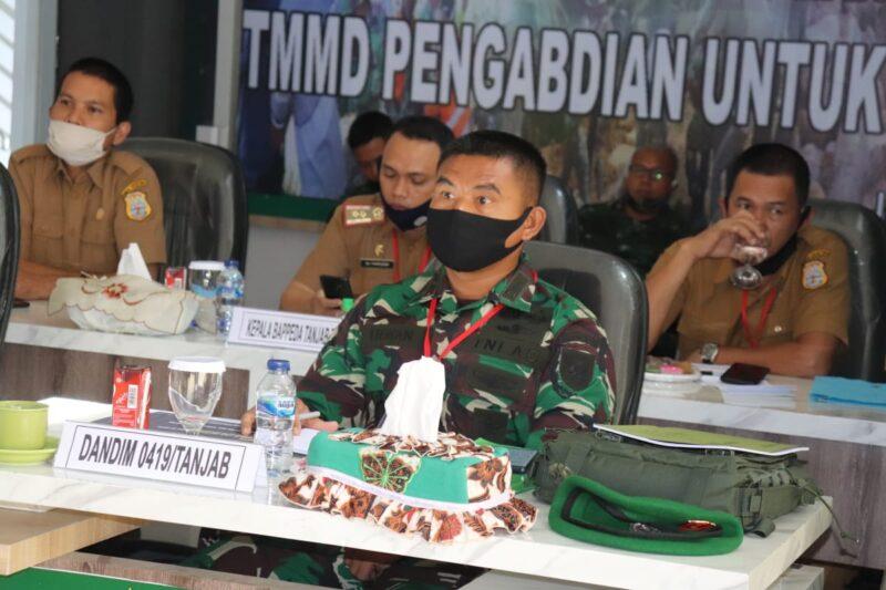 FOTO : Komandan Kodim 0419/Tanjab Letkol Inf Erwan Susanto, S.IP