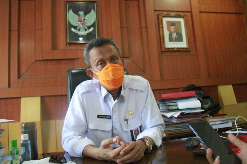 FOTO : Sekretaris Daerah Kabupaten Tanjung Jabung Barat Ir. H. Agus Sanusi, M.Si